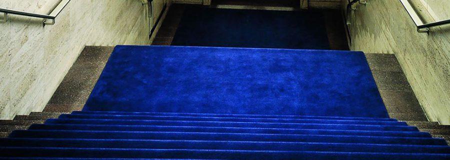 Treppe mit Teppich, PVC, Linoleum, Teppichboden, Teppich verlegen lassen