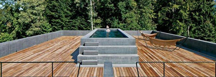 Terrassendielen aus Holz