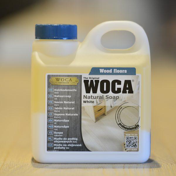 WOCA Pflegeseife Weiss