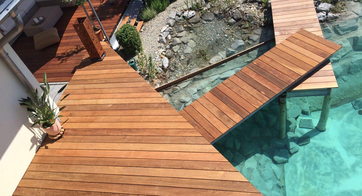 Terrassen Dielen aus Holz
