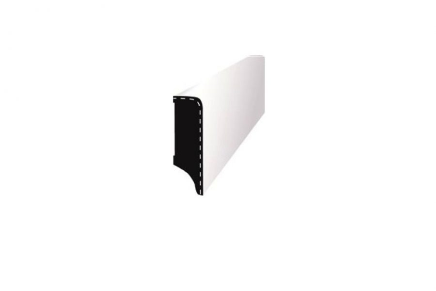 Aluminium Sockel für Parkettböden, Chromsockel für Landhausdielen und andere Holzböden