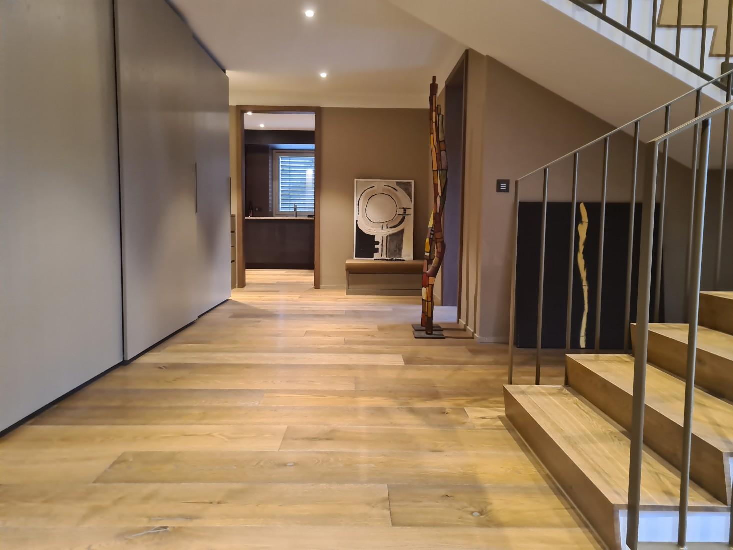 Holzboden Landhausdiele angeräuchert geölt gebürstet